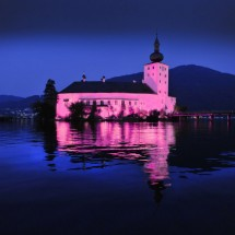 Austria.Lake Castle of Orth
